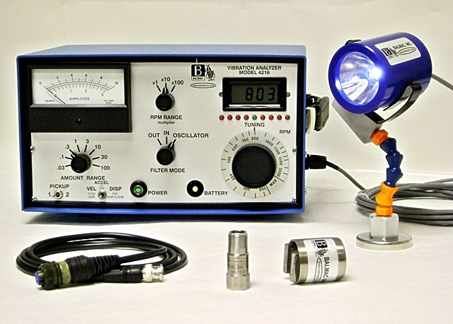 Balmac Vibration Analyzer Model 4216
