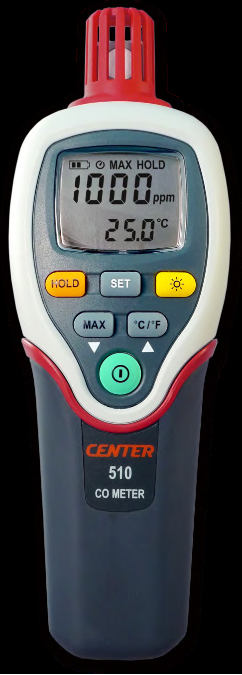 CO Meter with temperature