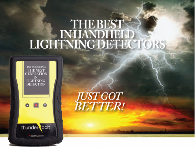 Lightning detector priceless